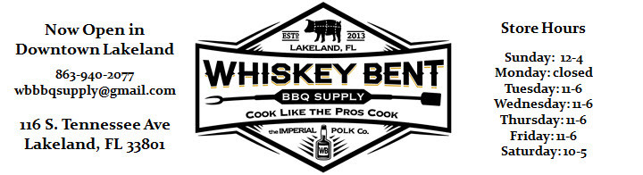 Whiskey Bent BBQ Supply Lakeland, FL