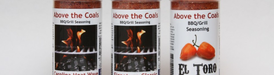 Above The Coals BBQ Grill Seasoning