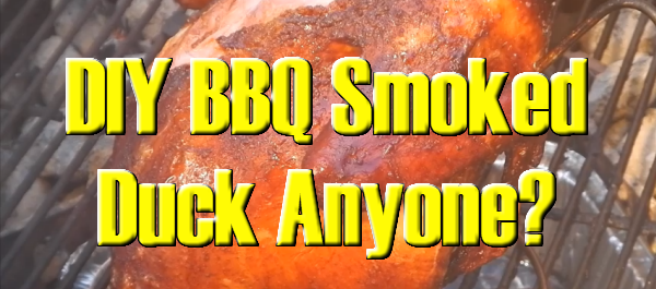 DIY BBQ Smoked Duck