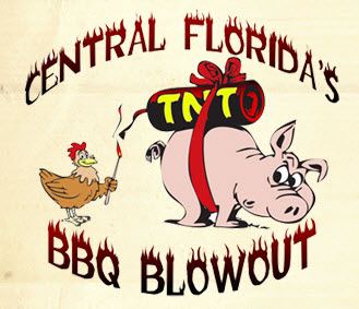 Central Florida's BBQ Blowout Logo
