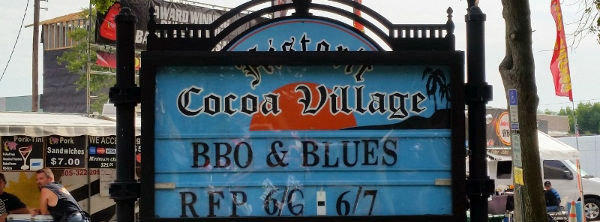 Good Times at the Historic Cocoa Village's BBQ & Blues Event