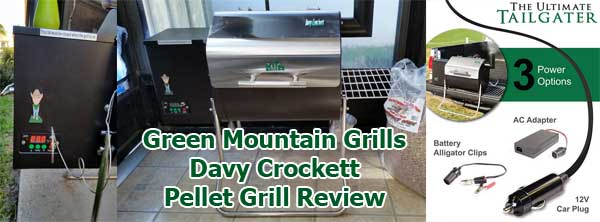 Davy Crockett Pellet Grill Makes for a Tailgating Dream