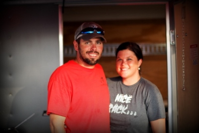 Justin and Lindsey Vose of Jugs BBQ