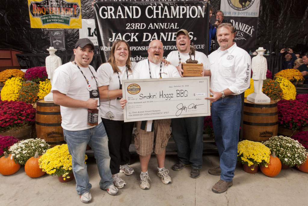 Smokin' Hoggs BBQ, grand champion of 2011 Jack Daniel's barbecue competition