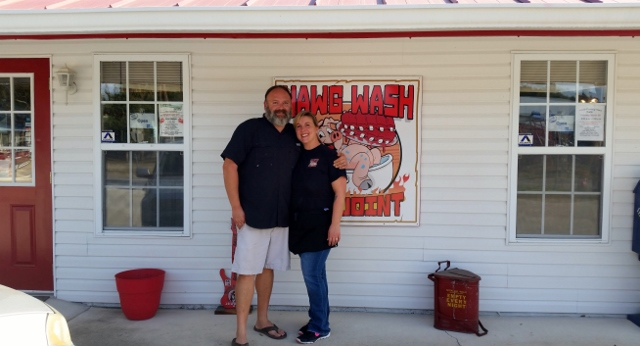 Brad and Corree Kay of Hog Wash BBQ