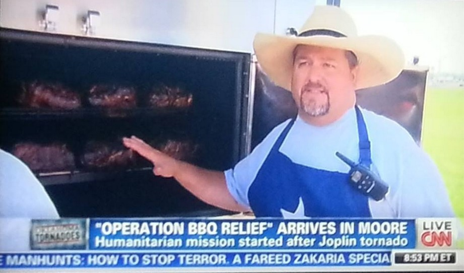 Bryan McLarty Operation BBQ Relief