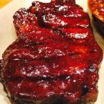 A Fine Swine BBQ Restaurant - 1.5 Pound Pork Steak with Championship Glaze