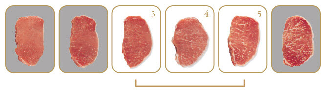 Chairman's Reserve Prime Pork Marbling Standards