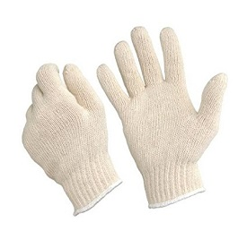 BBQ Buying Guide Cotton Hand Saver Gloves - Roper Style Gloves