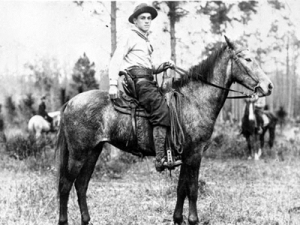 Florida Cracker Cowboy - Courtesy of Osceola County Government