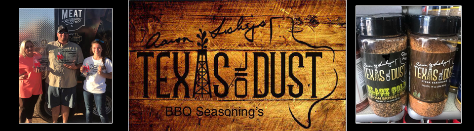 Aaron Lesley Texas Oil Dust BBQ header
