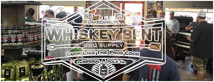 Origins of Whiskey Bent BBQ Supply Banner